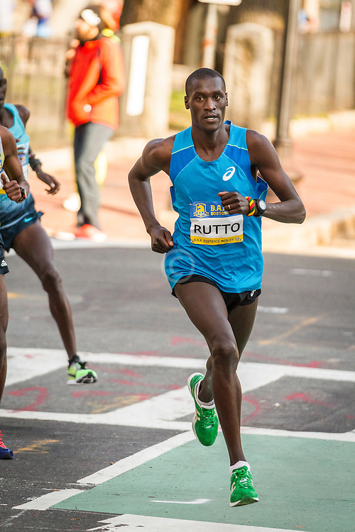 BAA 5K, Lani Rutto moves to lead
