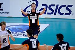 08-07-2010 VOLLEYBAL: WLV NEDERLAND - ZUID KOREA: EINDHOVEN<br /> Nederland verslaat Zuid Korea met 3-0 / Jeroen Rauwerdink<br /> ©2010-WWW.FOTOHOOGENDOORN.NL