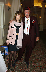 JOHN & JENNY McCRIRICK he is the racing punditat The Sir Peter O'Sullevan Charitable Trust Lunch at The Savoy, London on 23rd November 2005.<br />