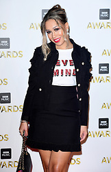 Rebecca Ferguson attending the BBC Music Awards at the Royal Victoria Dock, London.