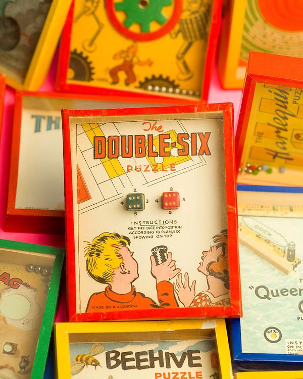 Vintage puzzles.