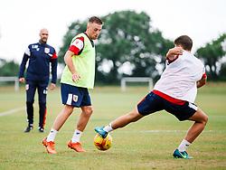 Joe Morrell in action as Bristol City Under 23s return for a second day of training ahead of their 2017/18 Season - Rogan/JMP - 01/07/2017 - Failand Training Ground - Bristol, England.