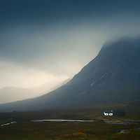 Lagangarbh cottage and Stob Dearg