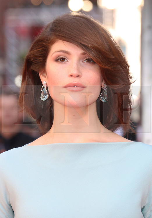 © Licensed to London News Pictures. 13/04/2014, UK. Gemma Arterton, The Laurence Olivier Awards, Royal Opera House, London UK, 13 April 2014. Photo credit : Richard Goldschmidt/Piqtured/LNP