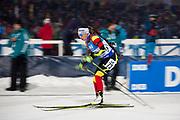 &Ouml;STERSUND, SVERIGE - 2017-12-03: Victoria Padial under damernas jaktstart t&auml;vling under IBU World Cup Skidskytte p&aring; &Ouml;stersunds Skidstadion den 1 december 2017 i &Ouml;stersund, Sverige.<br /> Foto: Johan Axelsson/Ombrello<br /> ***BETALBILD***