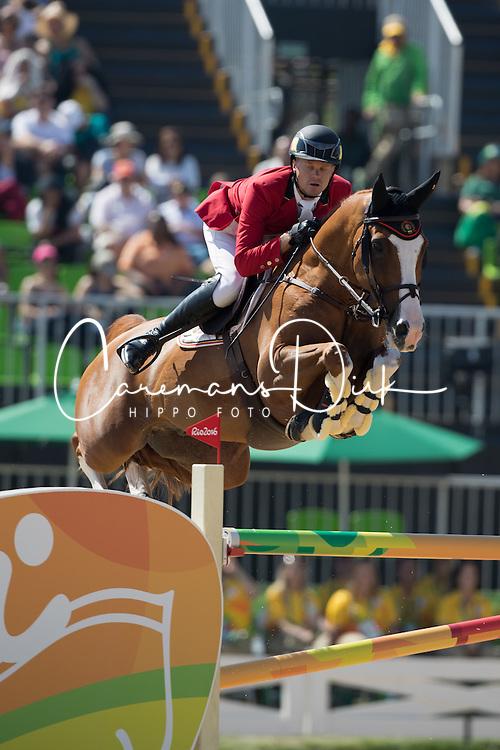 Guery Jerome, BEL, Grand Cru vd Rozenberg<br /> Olympic Games Rio 2016<br /> &copy; Hippo Foto - Dirk Caremans<br /> 14/08/16