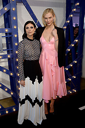 April 12, 2018 - New York, NY, USA - April 12, 2018  New York City..Morena Baccarin and Karlie Kloss attending Swarovski Times Square store party celebration at Hudson Mercantileon April 12, 2018 in New York City. (Credit Image: © Kristin Callahan/Ace Pictures via ZUMA Press)