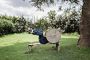 Bodybuilder, Shashamane 18 settembre 2014.  Christian Mantuano / OneShot