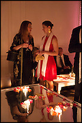 LUCIA SILVER; FLORENCE QUIRICI, White By Agadir -  launch party <br /> to promote the Moroccan resort of Agadir , Il Bottaccio, 9 Grosvenor Place, London, 4 November 2014