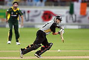 BJ Watling batting during the first ICC Twenty20 (Twenty Twenty) match between Pakistan and New Zealand held at the Dubai International Cricket Stadium, Dubai, UAE, 12 November, 2009. Photo: SPORTDXB / PHOTOSPORT