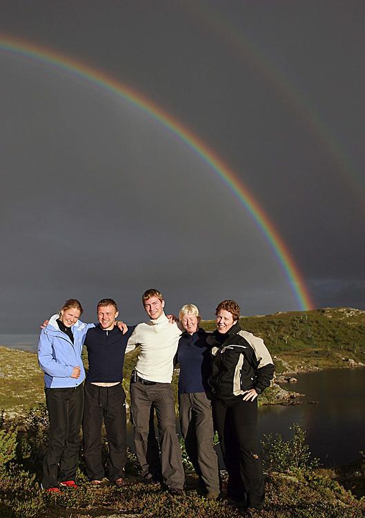2007-12-16..from left: Birgit Ryningen, Anders Levoll, Lars Kyllingstad, Tone Solnørdal and Vibeke Thiblin