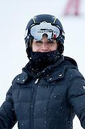 Queen Letizia of Spain enjoy a short private skiing break on February 5, 2017 in Astun, Spain