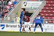 Northampton Town Midfielder Nicky Adams during the Sky Bet League 2 match between Northampton Town and Notts County at Sixfields Stadium, Northampton, England on 2 April 2016. Photo by Dennis Goodwin.