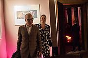 YANA PEEL, HANS ULRICH OBRIST, SERPENTINE PARTY, Palazzo Benzon  9 May 2019