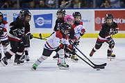 KELOWNA, CANADA - FEBRUARY 24:  Mini Minor Game at the Kelowna Rockets game on February 24, 2018 at Prospera Place in Kelowna, British Columbia, Canada.  (Photo By Cindy Rogers/Nyasa Photography,  *** Local Caption ***
