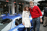 HUD MORGAN AND TATINA DE MARINIS PAPACHRISTIDIS, De Grisogono & Londino Car Rally  setting off from the Bluebird Building. King's Rd. London. 23 August 2007. Car rally which takes drivers through London, France, Switzerland and finally to Portofino .  -DO NOT ARCHIVE-© Copyright Photograph by Dafydd Jones. 248 Clapham Rd. London SW9 0PZ. Tel 0207 820 0771. www.dafjones.com.