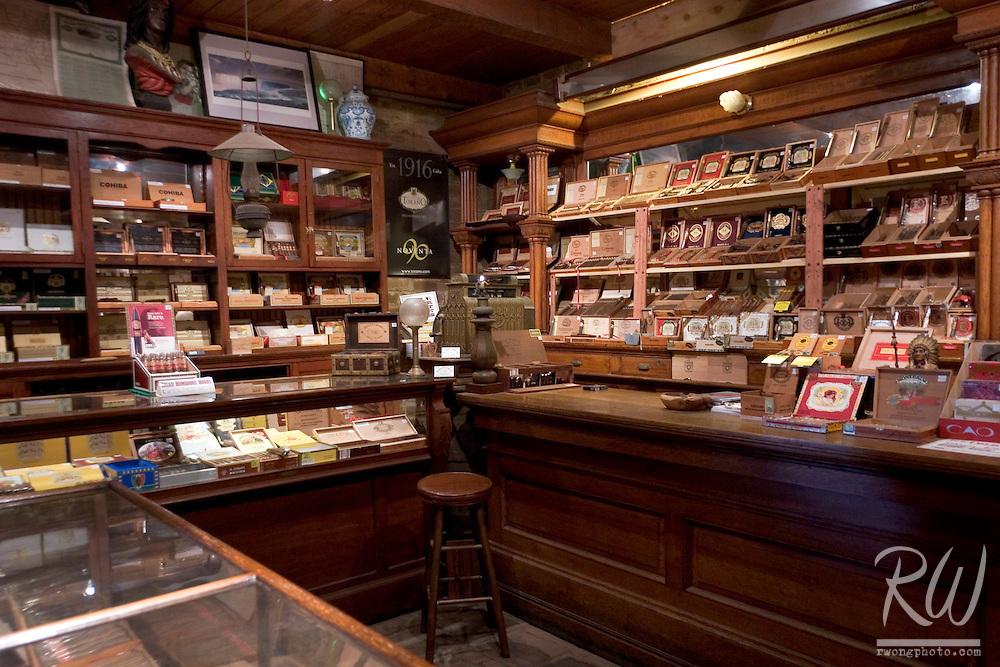Racine & Laramie Tobacco Shop Premium Cigar Room, Old Town San Diego SHP, California