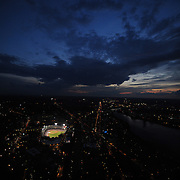 (08/14/08 Boston, MA USA)  Aerial photographs of Fenway Park and surrounding Boston. ..Photo by Michael Ivins/Boston Red Sox