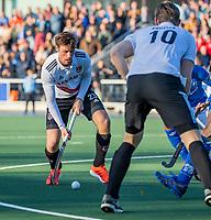 UTRECHT -  Wiegert Schut (Adam)  tijdens de hoofdklasse hockeywedstrijd mannen, Kampong-Amsterdam (4-3).  COPYRIGHT KOEN SUYK