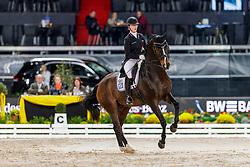 ERBE Hannah (GER), Carlos 609<br /> Stuttgart - German Masters 2019<br /> PREIS DER LISELOTT SCHINDLING STIFTUNG ZUR FÖRDERUNG DES DRESSURREITSPORTS<br /> Piaff Förderpreis Finale<br /> Nat. Dressurprüfung Kl. S***<br /> Grand Prix<br /> 15. November 2019<br /> © www.sportfotos-lafrentz.de/Stefan Lafrentz