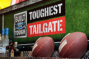 Kansas City Corporate Event and Marketing Photographer- Football fans enjoy the Built Ford Tough Toughest Tailgate event at Arrowhead Stadium on Sunday, Dec. 25, 2016 in Kansas City, Mo. (Colin E. Braley/AP Images for Ford)