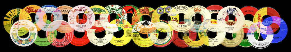 Record Labels .. Reggae Explosion artwork.