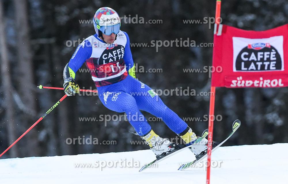 17.12.2017, Grand Risa, La Villa, ITA, FIS Weltcup Ski Alpin, Alta Badia, Riesenslalom, Herren, 1. Lauf, im Bild Luca De Aliprandini (ITA) // Luca De Aliprandini of Italy in action during his 1st run of men's Giant Slalom of FIS ski alpine world cup at the Grand Risa in La Villa, Italy on 2017/12/17. EXPA Pictures © 2017, PhotoCredit: EXPA/ Erich Spiess