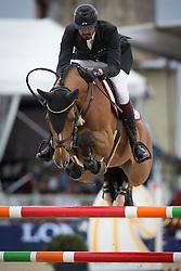 Al Thani Ali bin Khaled (QAT) - Vienna Olympic<br /> Longines Global Champions Tour of Antwerpen 2014<br /> © Dirk Caremans