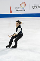 KELOWNA, BC - OCTOBER 26: Japanese figure skater Keiji Tanaka competes during the men's long program / free skate of Skate Canada International held at Prospera Place on October 26, 2019 in Kelowna, Canada. (Photo by Marissa Baecker/Shoot the Breeze)