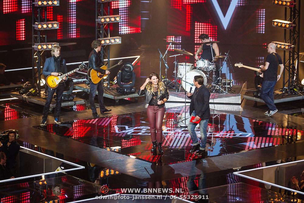 NLD/Hilversum/20160109 - 4de live uitzending The Voice of Holland 2015,