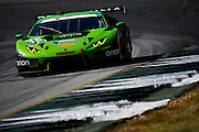 September 30, 2016: IMSA Petit Le Mans, #16 Richard Antinucci, Spencer Pumpelly, Corey Lewis, Change Racing, Lamborghini Huracán GT3