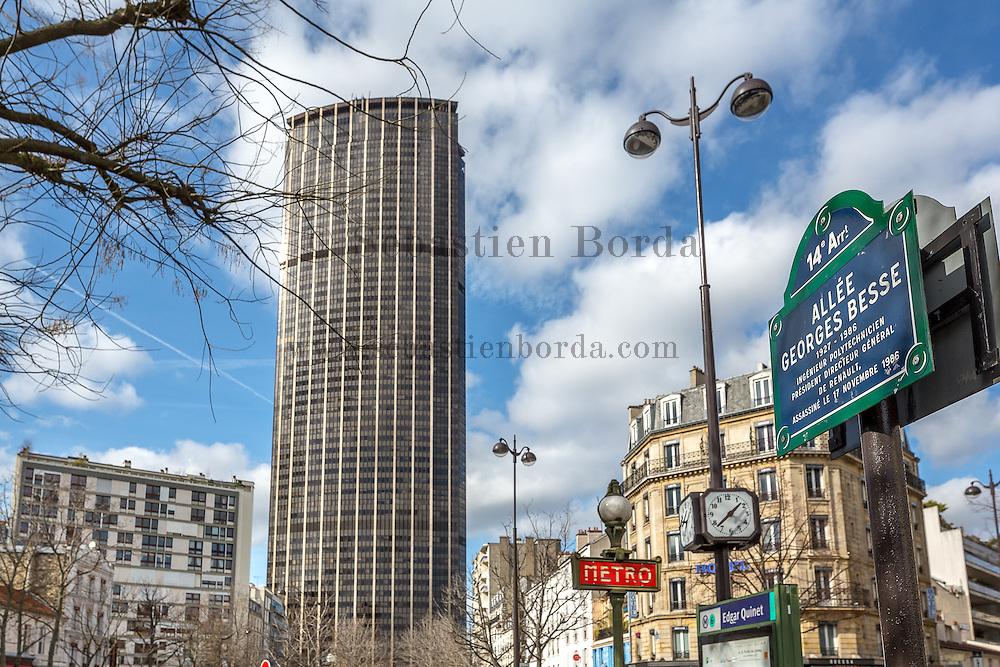 Tour Montparnasse // Montparnasse tower.