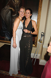 Left to right, KATIE REES and VICTORIA HALLAM-PEEL at the 2008 Berkeley Dress Show at the Royal Hospital Chelsea, London on 3rd April 2008.<br /><br />NON EXCLUSIVE - WORLD RIGHTS