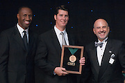 18450Alumni Awards Gala: ..Mark Arnold, BSIS '81(medal of merit), ..Dennis Minichello,  and  Dell Robinson