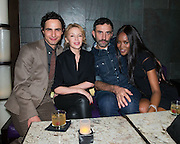 NEW YORK - DECEMBER 8:  Zac Posen, Kylie Minogue, Riccardo Tisci and Naomi Campbell attend an exclusive screening of the new FOX show 'Empire' at the Bryant Park Hotel on December 8, 2014 in New York City. (Photo by Ben Hider/PictureGroup)