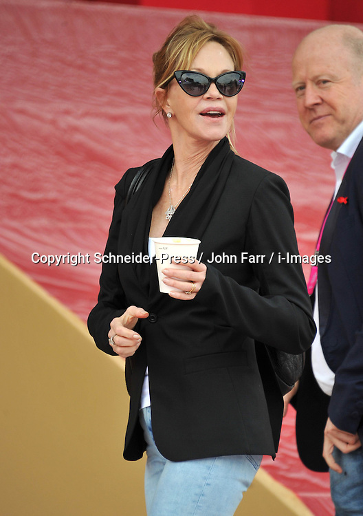 Melanie Griffith during the Life Ball 2013 at City Hall, Vienna, Austria, 25 May, 2013. Photo by Schneider-Press / John Farr / i-Images. .UK & USA ONLY