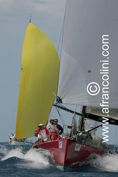 SAILING - Hahn Premium Race Week 2004 / Hamilton Island, QLD (AUS) - Day 5 - HEAVEN CAN WAIT - 26/08/04 - Photo: Andrea Francolini