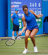 Madison Keys on Day Eight of the Aegon Classic at Edgbaston Priory Club, Birmingham, UK<br /> Picture by Mike Griffiths/Focus Images Ltd +44 7766 223933<br /> 18/06/2016