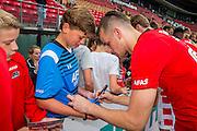 ALKMAAR - 26-06-2016, eerste training AZ, AFAS Stadion, AZ speler Mats Seuntjens