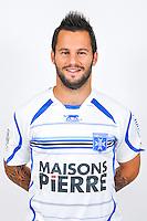 Frederic SAMARITANO  - 18.09.2013 - Photo Officielle - Auxerre -<br /> Photo : Icon Sport