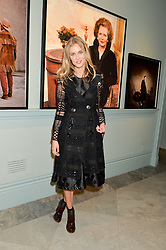 DONNA AIR at the Alexandra Shulman and Leon Max hosted opening of Vogue 100: A Century of Style at The National Portrait Gallery, London on 9th February 2016.
