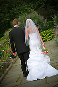 Bride And Groom in Central Park New York