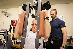 Physiotherapy gym at health centre,  London Borough of Enfield, Barnet, Enfield & Haringey Mental Health Trust, London UK