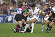 EDF Energy Cup,  Sharks, Elvis SEVEALi'L, during the, first half of the, NEC Harlequins vs Sale Sharks rugby match at the Stoop Stadium, Twickenham. 07/10/2006 . [Photo, Peter Spurrier/Intersport-images]..