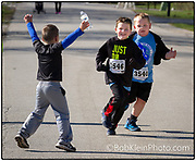 St. Mary's School 5K racers Ian Pope and Matthew Pilon