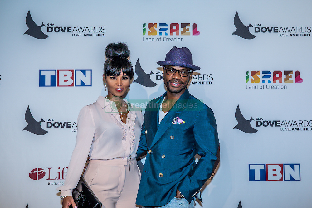 October 11, 2016 - Nashville, Tennessee, USA - Kirk Franklin at the 47th Annual GMA Dove Awards  in Nashville, TN at Allen Arena on the campus of Lipscomb University.  The GMA Dove Awards is an awards show produced by the Gospel Music Association. (Credit Image: © Jason Walle via ZUMA Wire)