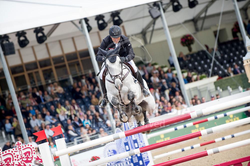 Piergiorgio Bucci (ITA) & Bohemian Rhapsody - Rolex Grand Prix - CSI5* Jumping - Royal Windsor Horse Show - Home Park, Windsor, United Kingdom - 14 May 2017