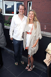 TOM & SARA PARKER-BOWLES at the Beat Summer party hosted by Luca del Bono at L'Atelier De Joel Robuchon, 13-15 West Street, Covent Garden, London on 1st July 2008.<br />