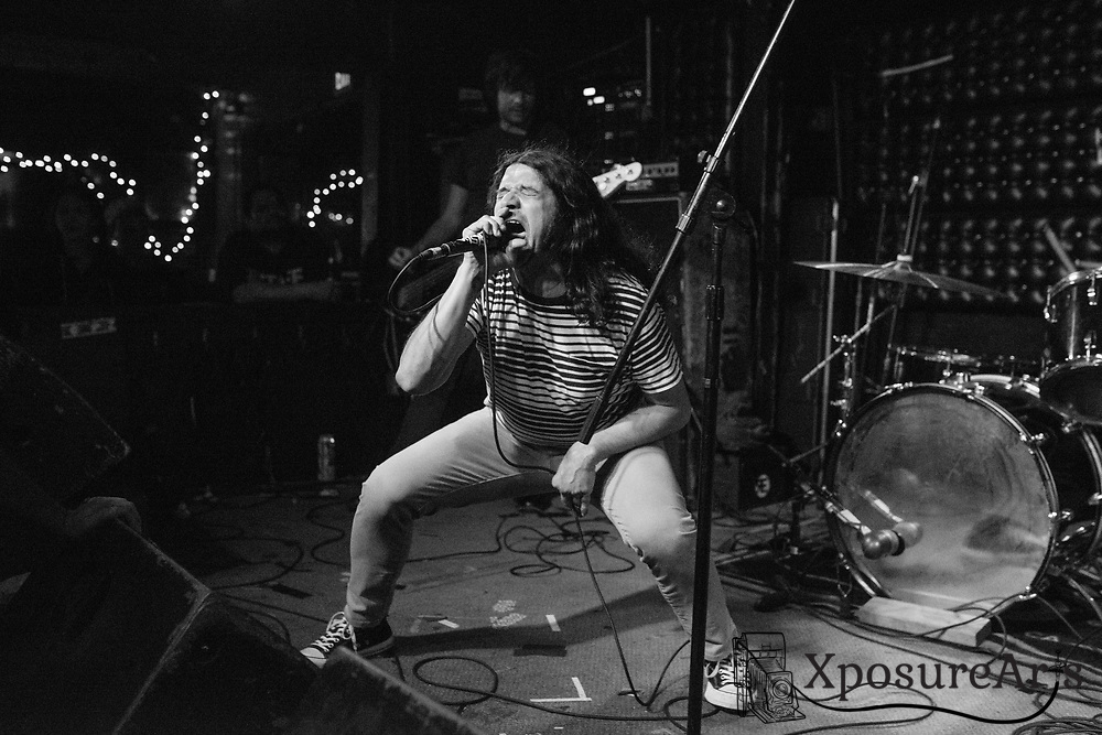 Death Eyes performs at the Casbah in San Diego, CA. Photos: Karen Goldman. Instagram: @xposurearts <br />