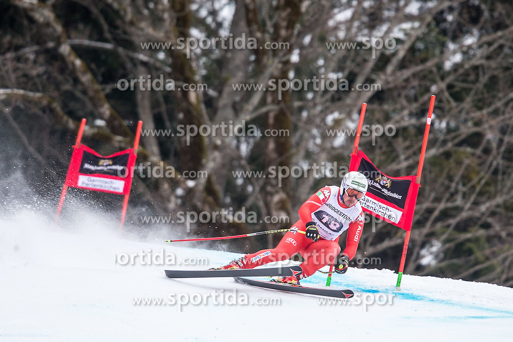 27.02.2015, Kandahar, Garmisch Partenkirchen, GER, FIS Weltcup Ski Alpin, Abfahrt, Herren, 2. Training, im Bild Peter Fill (ITA) // Peter Fill of Italy in action during the 2nd trainings run for the men's Downhill of the FIS Ski Alpine World Cup at the Kandahar course, Garmisch Partenkirchen, Germany on 2015/27/02. EXPA Pictures © 2015, PhotoCredit: EXPA/ Johann Groder